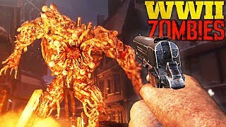 SECRET BASIC du NAZI ZOMBIE de WORLD WAR 2 !! - (Le Dernier Reich)
