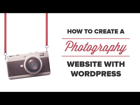 How to Build a Photography Website with WordPress