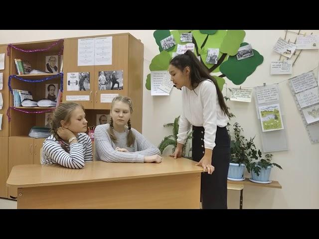Изображение предпросмотра прочтения – КамилаИсмаилова читает произведение «Листья (Пусть сосны иели…)» Ф.И.Тютчева