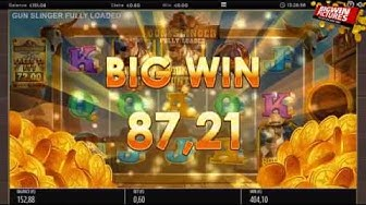 Gun Slinger Fully Loaded 40 Free Spins MEGA WIN!