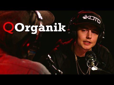 King of the Dot founder Organik in Studio Q