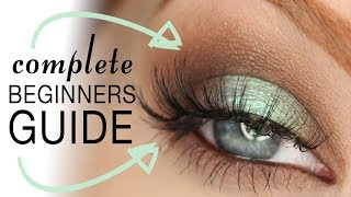 How to Apply False Lashes | Complete Beginners Guide