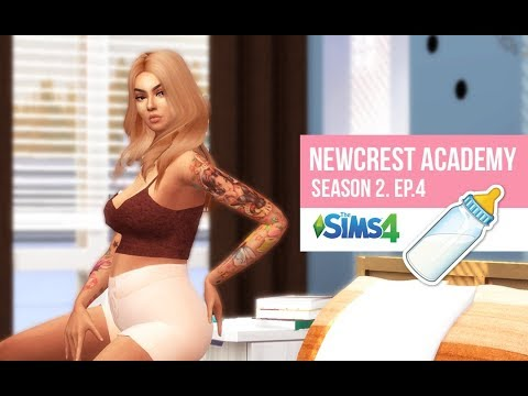 TEEN MOM | HIGH SCHOOL DRAMA | NEWCREST ACADEMY | SEASON 2. EP.4 | A Sims 4 Series