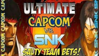 Mugen: Ultimate Capcom vs SNK! Salty Team Bets Part 1 - YoVideogames