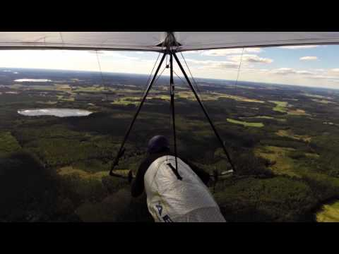 ATOS V Flight using Sailplane Winch