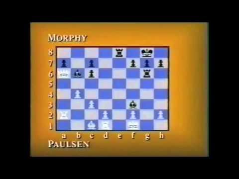 Louis Paulsen Vs. Paul Morphy - The Game Pt.3