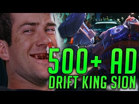 500+ LETHAL AD SION (LETHALITY BUILD) DRIFT KING OF THE RIFT! -  League of Legends