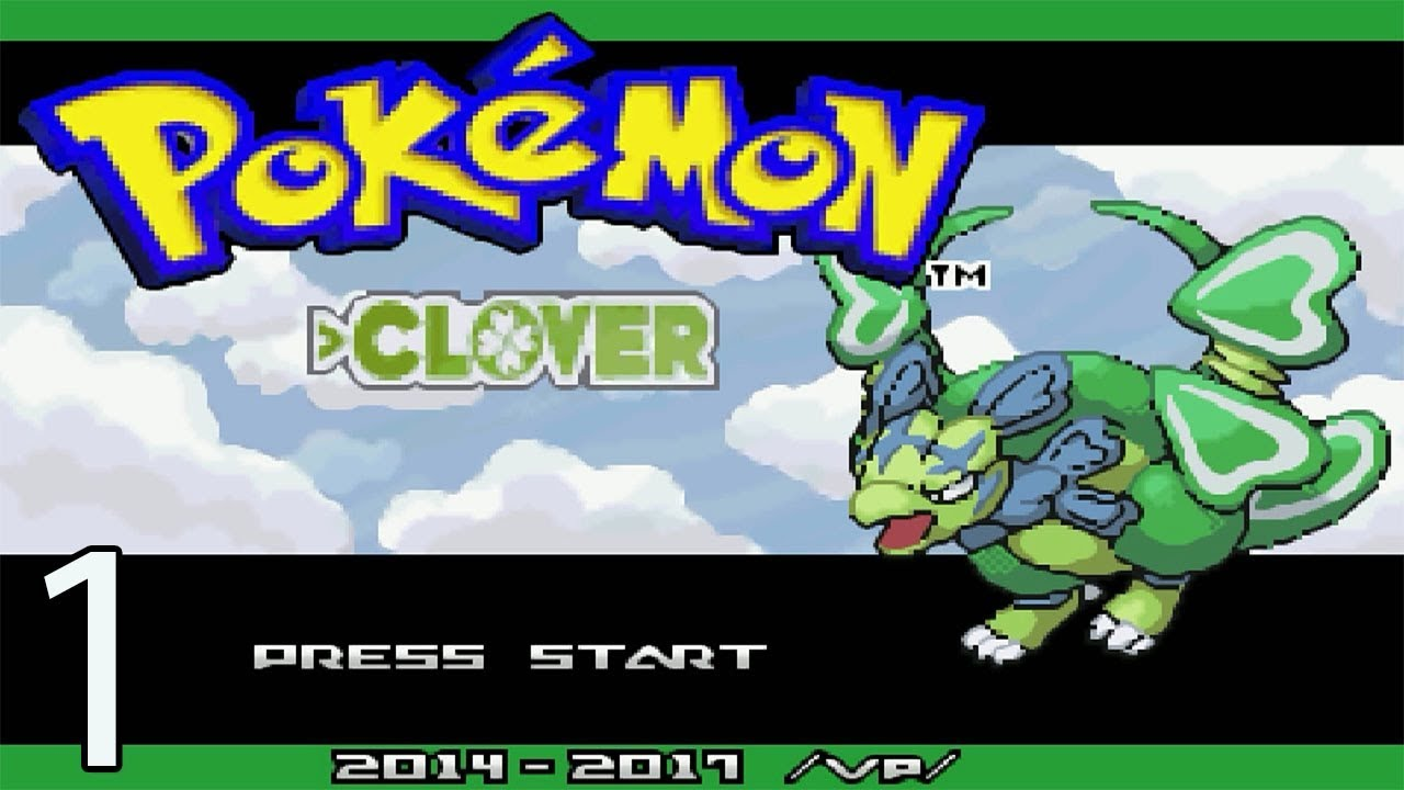 Pokemon Clover - Part 1 - A 4Chan Made Pokemon Game