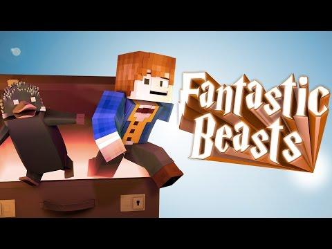 Minecraft Parody - FANTASTIC BEASTS - (Minecraft Animation)