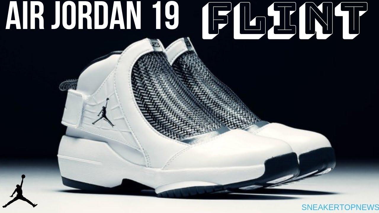 a6e3d963edc The Air Jordan 19 Retro Flint Release Date January 5th 2019 - YouTube