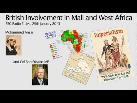 The British in Mali and West Africa | Mohammed Ansar, BBC Radio 5 Live