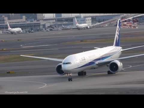 Tokyo Haneda International Airport Movements  羽田国際空港