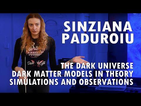 Sinziana Paduroiu: The Dark Universe - Dark Matter Models in Theory, Simulations and Observations