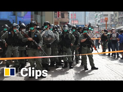 hong-kong-riot-police-patrols-the-street-after-online-call-for-protest-action-on-labour-day