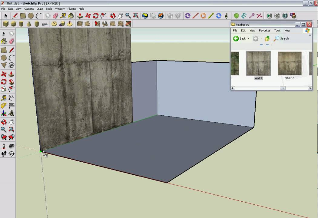 How to import texture to google sketchup youtube for Free sketchup textures