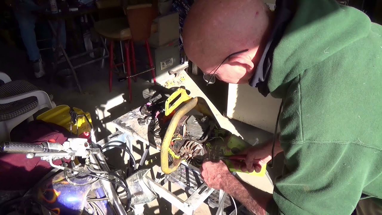 Poulan Chainsaw repair Models 1950, 2150, & 2075 - YouTube