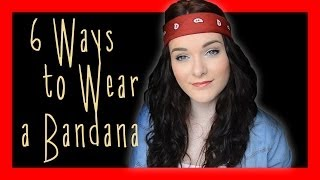 6 Ways to Wear a Bandana | ohhitsonlyalice