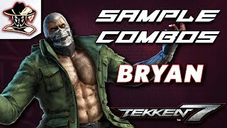 Tekken 7: Bryan - Staple Combos thumbnail