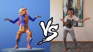 FORTNITE DANCE CHALLENGE!!! IN REAL LIFE GUST VS SIMAS
