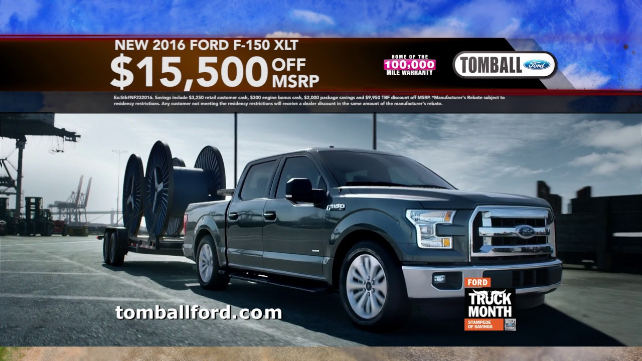 Tomball Ford Truck Month March 2017