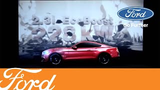 The New 2015 Ford Mustang 3D Video Mapping
