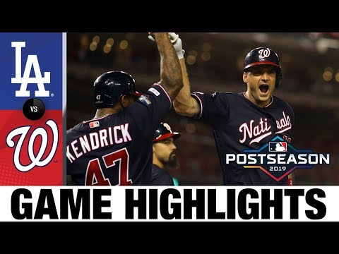 Max Scherzer, Ryan Zimmerman lift Nats to Game 4 win | Dodgers-Nationals NLDS Game Highlights