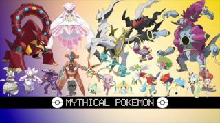 All Mythical Pokémon