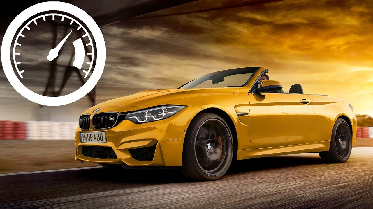 Bmw M4 Convertible Acceleration 0 60 Mph 100 Km H 250 Top Sd 1001cars