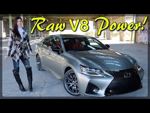 Absolute BEAST of a Luxury Sedan! // 2020 Lexus GS F Review