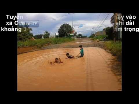 [TIN24H.TV] Con đường Quang Trung huyện Eakar tỉnh Đăklăk