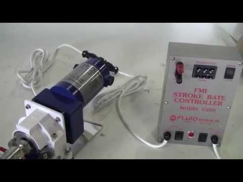 FMI Model QVG50-1 Metering Pump