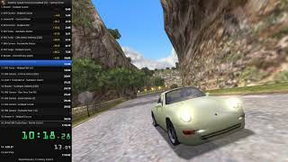 [WORLD RECORD] Need For Speed Porsche Unleashed - Factory Driver Speedrun - 1:10:50.34