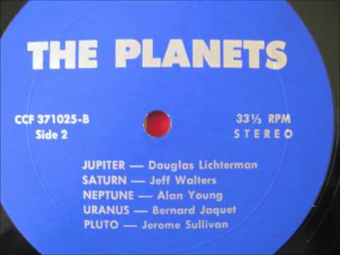 Planets : 1977 Side Two - private press electronic record album