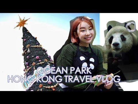 Celebrating Ocean Park Hong Kong Christmas Sensation 2017 | Travel Vlog