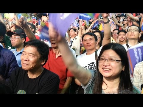 柯文哲贏25萬票當選台北市長