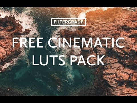 FREE Cinematic Video LUTs Tutorial & Download