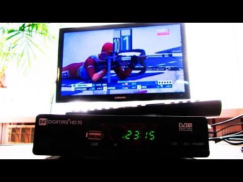 Видео как подключить цифровое телевидение к телевизору