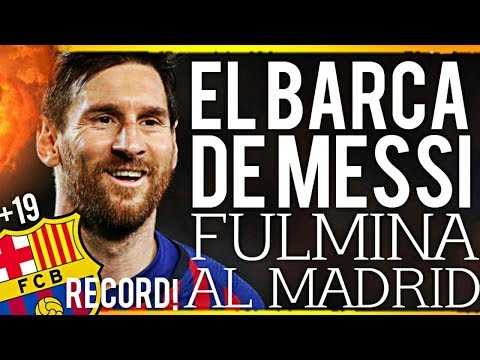¡¡😱💥BRUTAL💥😱!! ¡🚨😎EL BARÇA DE MESSI FULMINA AL REAL MADRID EN LA LIGA😎🚨! ¡🔥BREAKING NEWS🔥!