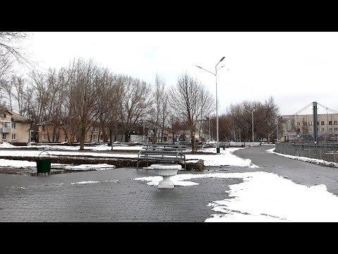 Как в Рубцовске городская набережная имени Петрова перезимовала...