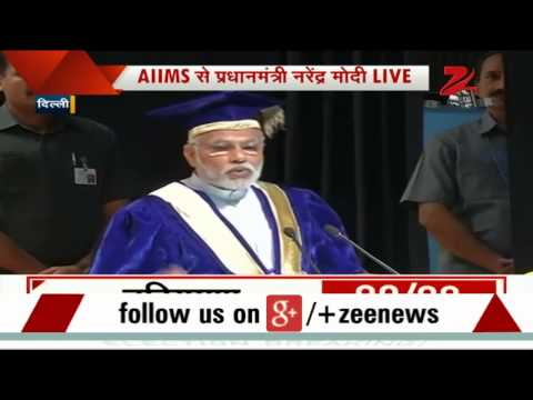 India is way behind in medical research: PM Modi