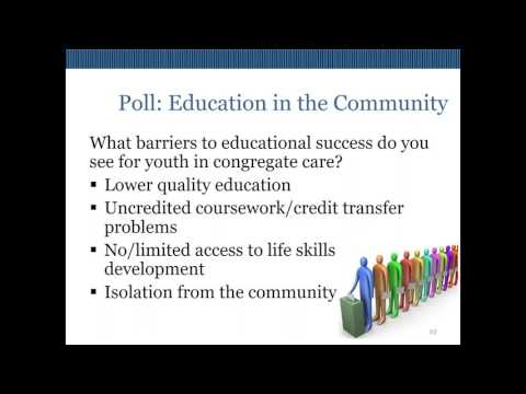 Webinar: Planning for a Quality Education in the Child Welfare System