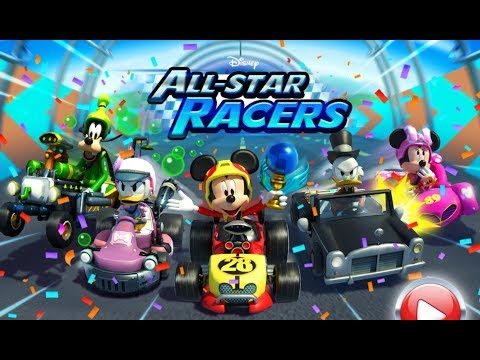 Mickey Mouse Disney All Star Racers - Mickey Mouse Clubhouse Car Racing