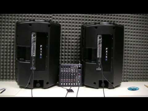 Tutorial collegare Casse amplificate / Mixer / iPhone o Pc  by MPE AUDIO