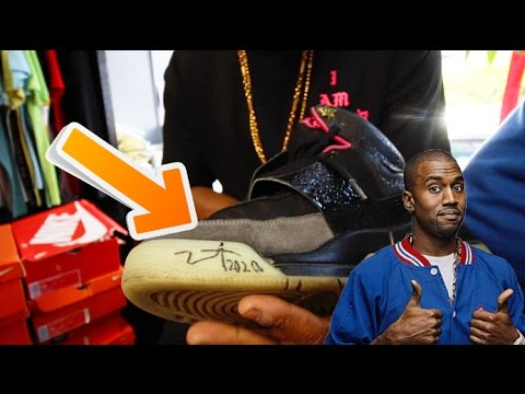 HOW TO GET KANYE WEST TO SIGN YOUR YEEZYS!!! #STORYTIME