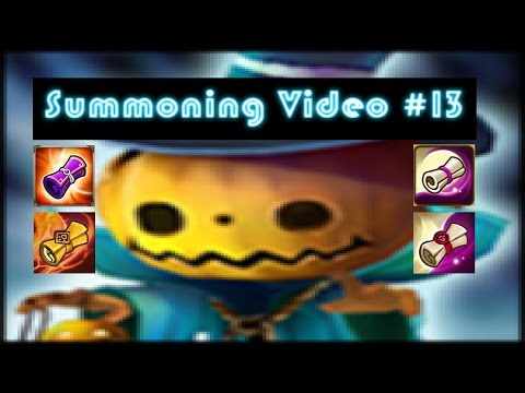[ Summoners War ] [ Summoning Video #13 ] 61 Scrolls - The Results are CHILLING!