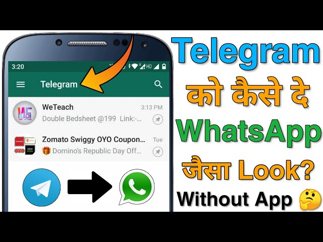 Apply WhatsApp Theme To Telegram Without Any App? 🤔 How To Change/Customize Telegram App Theme?