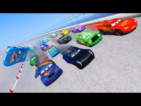 Thumbnail: Race Cars 3 McQueen Jackson Storm Max Schnell Chick Hicks & Friends Disney Pixar Cars Driven To Win