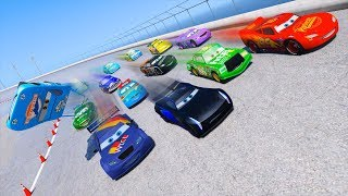 Race Cars 3 McQueen Jackson Storm Max Schnell Chick Hicks & Friends  Cars Driven To Win