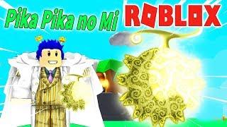 Roblox-I had the power the light Demons Left Pika Pika No Mi-the Devil Fruit   Steve's one piece