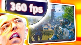 I Can't HANDLE 360 FPS...
